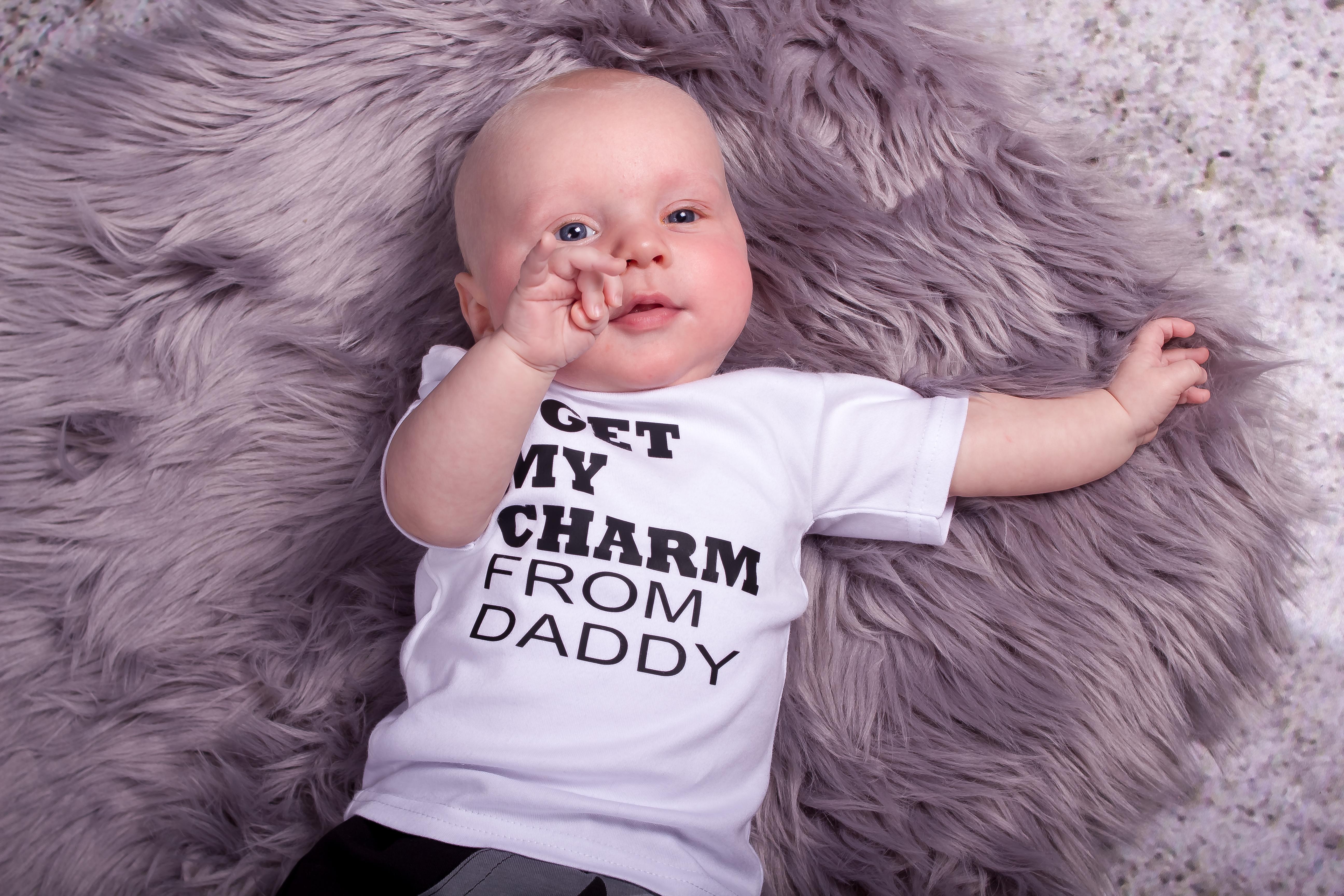 Shirt - I GET MY CHARM FROM DADDY