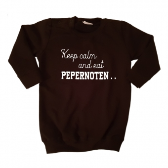 Sweaterdress - Keep Calm and eat Pepernoten