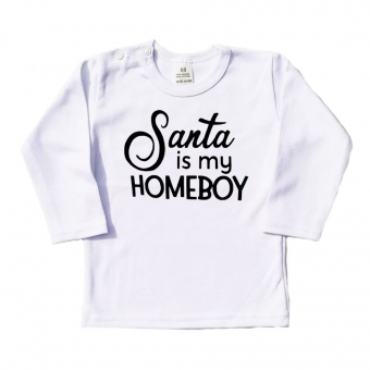Longsleeve - Santa is my homeboy