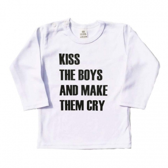 Shirt Kiss The Boys and Make Them Cry